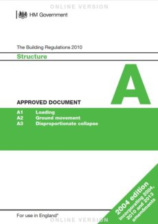 Approved Document A cover